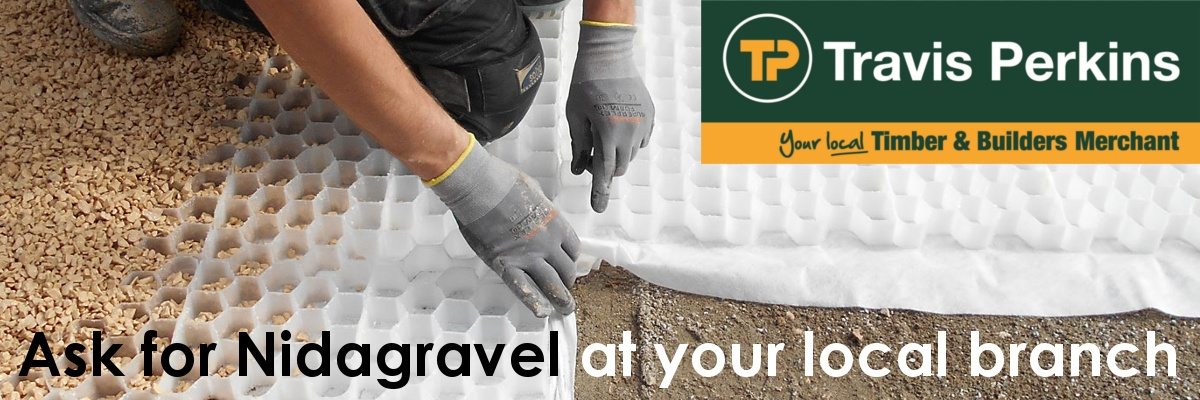 Buy Nidagravel Gravel Grids at Travis Perkins