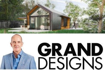 Grand Designs House with Nidagravel Grid Driveway